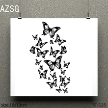 AZSG Dancing butterfly Clear Stamps/seal for DIY Scrapbooking/Card Making/Photo Album Decoration Supplies