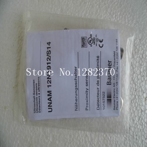 цена на [SA] New original special sales Baumer ultrasonic sensor switch UNAM 12N1912 / S14 spot