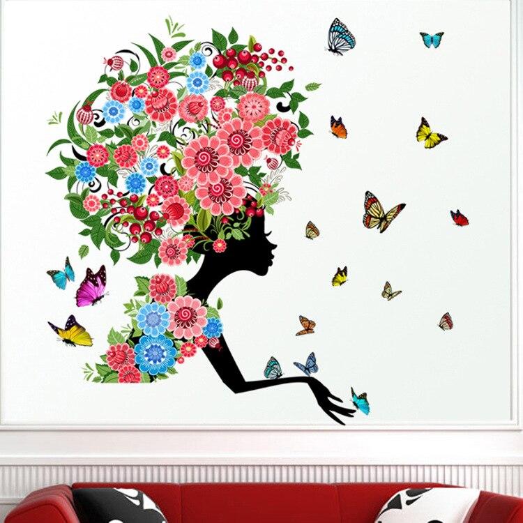 3d Wall Decor Flower Garden : New d flower fairy pokemon girl kids rooms home decor