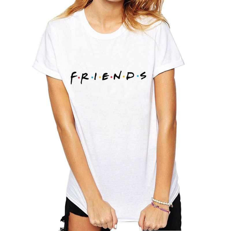 7c881525a08 Womens Fashion Casual Tops Letter Printed T-shirt Funny Casual Pullovers  Plus Size Best Friends