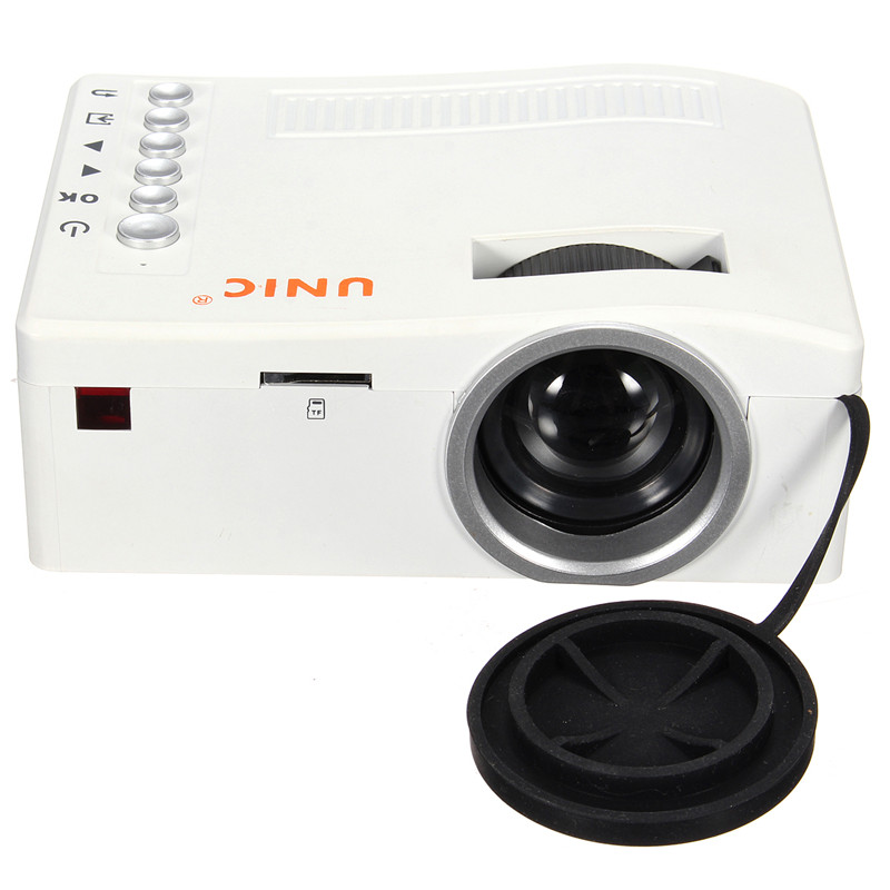 Excellent Quality UC18 font b Projector b font Full HD 1080P Home Theater LED Mini Portable
