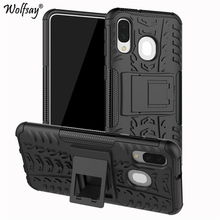 For Cover Samsung Galaxy A40 Case Shockproof Rubber Hard Armor A405F/DS A405FN 5.9