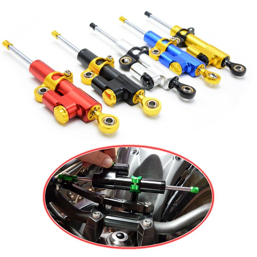 for CNC Damper Steering StabilizerLinear Reversed Safety Control Over  for Suzuki GSXR 1000 K9 09-15 GSXR 1000 K7 K8 GSXR 600