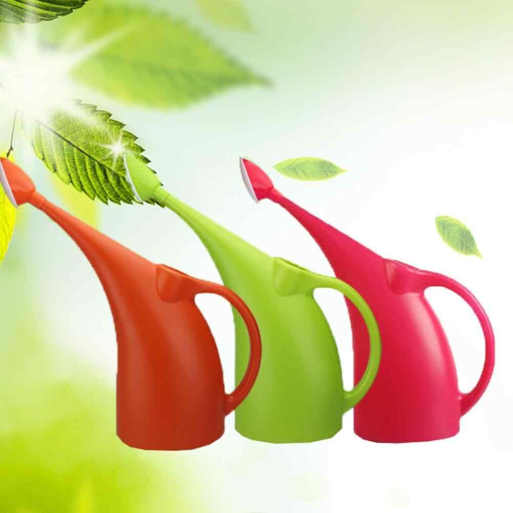 سعة كبيرة البلاستيك طويل صنبور حديقة أنيقة زهرة النباتات أوعية ري الرش يمكن وعاء حاوية حامل زجاجة ماء يمكن