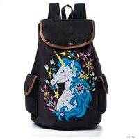 2018 Double Shoulder Bag School Bag Creative Animal Prints School Durable Backpack Bag For Girls Printing