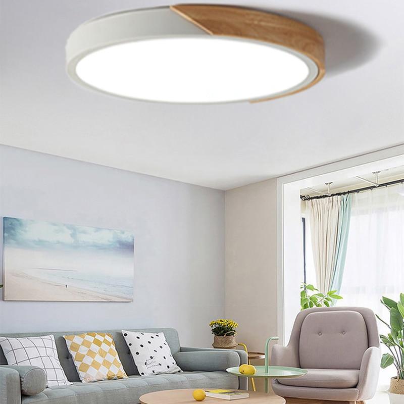 Round Multicolor  LED Ceiling Light Modern Lamp Living Room Lighting Fixture Bedroom Kitchen Surface Mount Flush Panel lamp