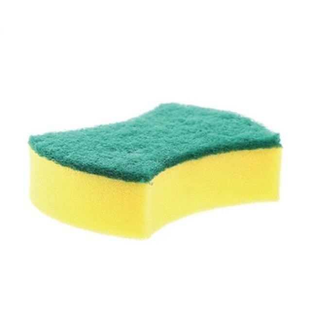1PC Kitchen Helper Nano Emery Magic Clean Rub Pot Rust Focal Stains Sponge Removing Kit useful Rub the Pot Rust