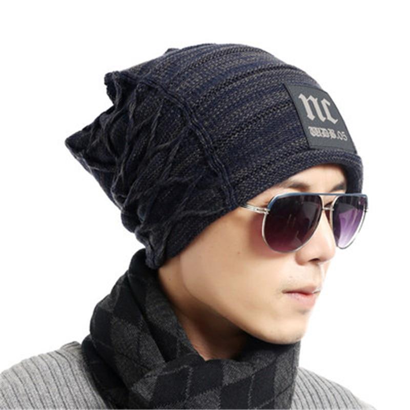 Men Winter Hat Beanie Gorro Gorros De Lana Gorras Warm Bonnet Chapeu Cap Cappelli Beanies Bonnet Masculino Casquette Toca Hats beanie