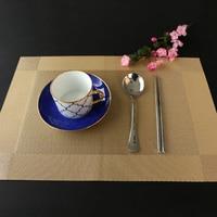 Grande Tazza di Tè Sottobicchieri Pad Mats PVC Piazza Silicone Cucina Tovaglia Mat Centrini Amerikan Servisi Accessori Per la Tavola 50M3002