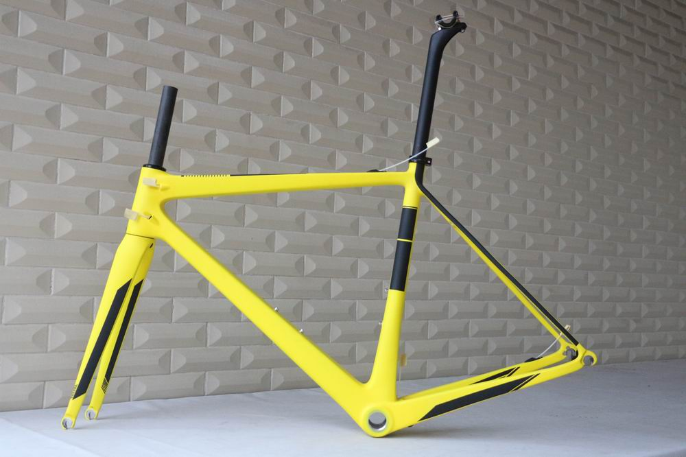 light weight T1000 carbon road frame custom paint