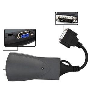 Image 3 - Top Qualität Lexia3 PP2000 für Citroen für Peugeot Diagbox V 7,83 V48 V25 PP2000 mit LED Kabel Modul S.1279 Diagnose werkzeug