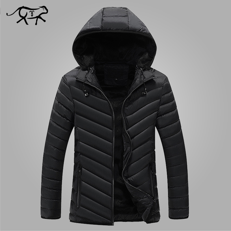 Winter Parkas Men's Jackets 2017 Popular Casual Slim Hooded Coats Men Outerwear Cotton Jacket Male Fashion Brand Clothing L-3XL 2016 hot sale brand new winter outdoors jacket men wadded coats fashion outerwear casual jackets jackets