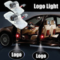 2Pcs Led Ghost Shadow Light LED Car Logo Projector Auto Decorative Accessories Emblem Welcome Door Lights For Honda  Accord