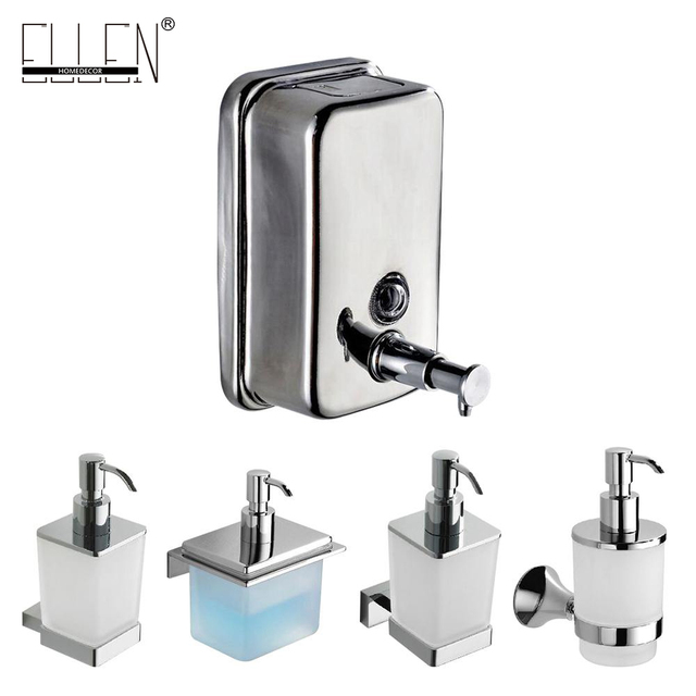 Br Soap Dispenser Square Wall Liquid Bottle Bathroom Accessories
