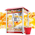 Машина для попкорна Шмель-это коммерческий автоматический экструдер для зерна и зерна.
