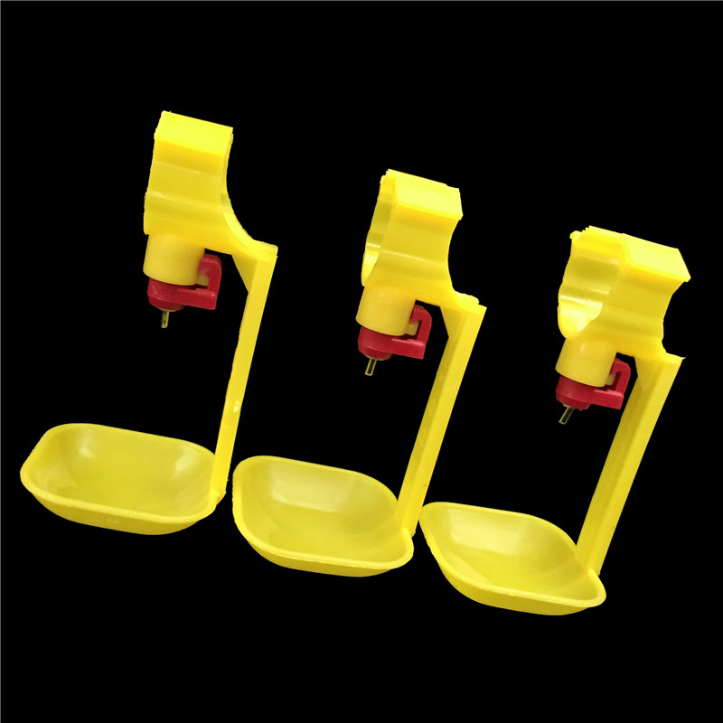 10 <font><b>sets</b></font> Chicken drinking <font><b>cup</b></font> Yellow <font><b>Ball</b></font> drinking Nipple Chicken tools wholesale Free shipping
