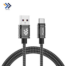 WMZ High Quality Strong Metal Type C USB 5V Fast Charging USB-C Data Charger For Android Mobile Phone Samsung Xiaomi Huawei