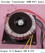 150W Toroidal Transformer  HIFI Audio Amplifier Dedicated Single 24V &12V 100W 	Pure Copper Small Class A Amp DIY