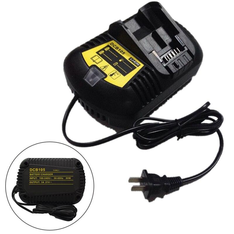 Литий-ионный Батарея Зарядное устройство 12 В-20 В для <font><b>DEWALT</b></font> Батарея DCB200 DCB204