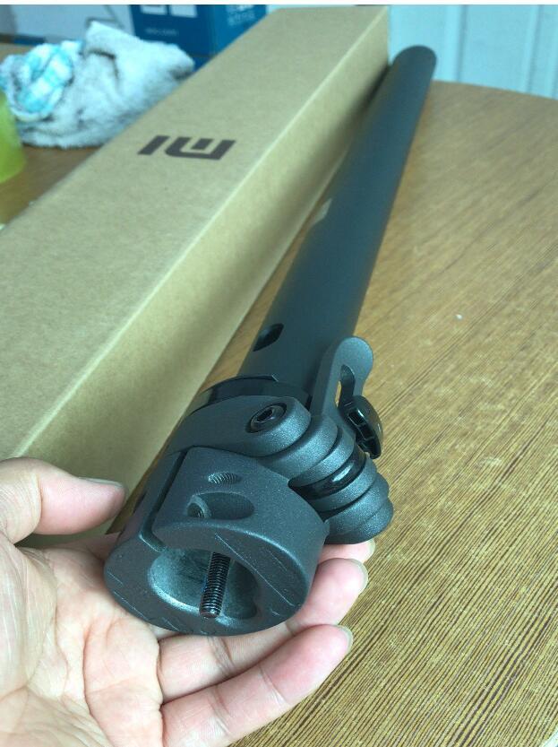 D'origine chargement Tuyau guidon pliant Tige Verticale pièces accessoires nouveau POUR XIAOMI MIJIA M365 Scooter