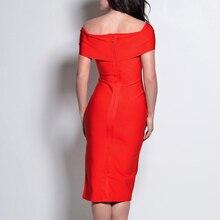 INDRESSME Off The Shoulder Split Bandage Dress Fashion For Women 2018 Party Dresses