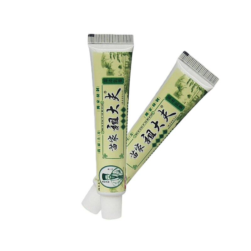 Body Herbal Antibacterial Cream Miao Zu Dafu Psoriasis Tinea Herb Cream Anti-itch Creams 0.90