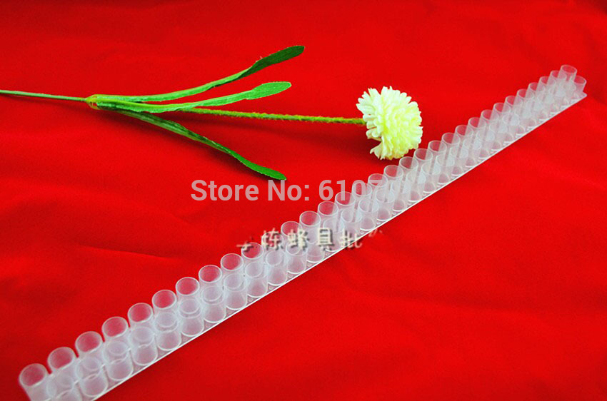 63 Holes Queen Bee Cell Bar Strip Set Base Beekeeping Tools With Queen Cell Cups