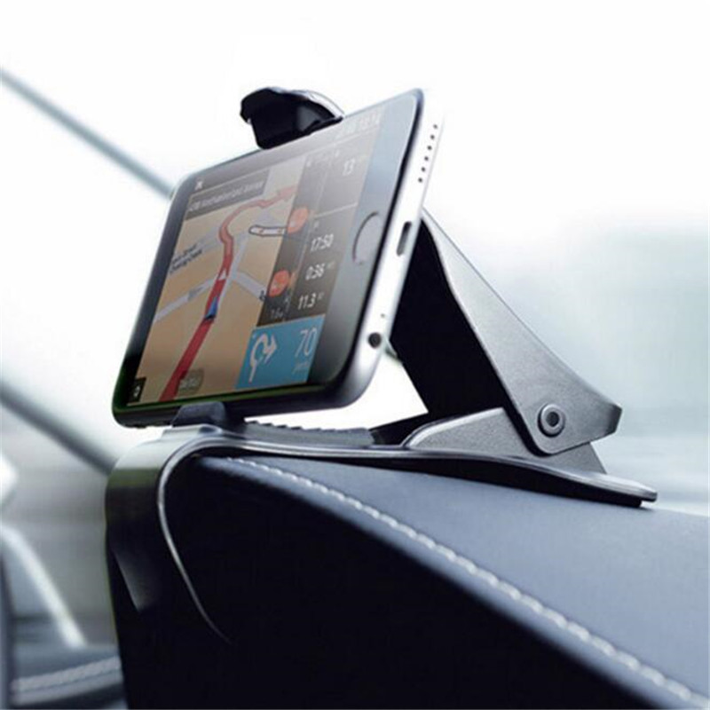 HTB1FtgQXoLrK1Rjy0Fjq6zYXFXaW Universal Car Dashboard Mount Holder Pad Stand Hud Design Clip Vehicle Monuted GPS Mobile Phone Support Car Accessories