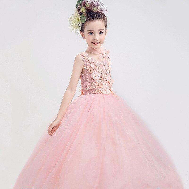 Aliexpress Com 2018 Kids Girls Flower Dress Baby Girl Butterfly