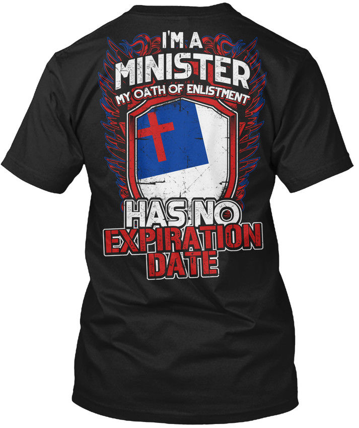 T Shirt Shop Online Crew Neck Men Short-Sleeve Best Friend Are You A Minister - IM My Oath If Enlistment Has No Shirts