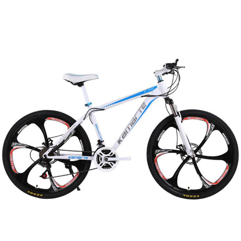 Mountain Bike Variable Speed Bicycle 24 Inch Shock Absorption 21 Speed Gift Promotion Student Bicycle