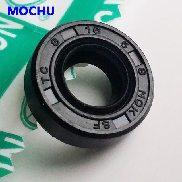 10ピースnqk 8 × 16 × 5 TC8x16x5 nbrスケルトンオイルシール8 × 16 × 5シールnqk高品質シール8*16*5ラジアルシャフトシール