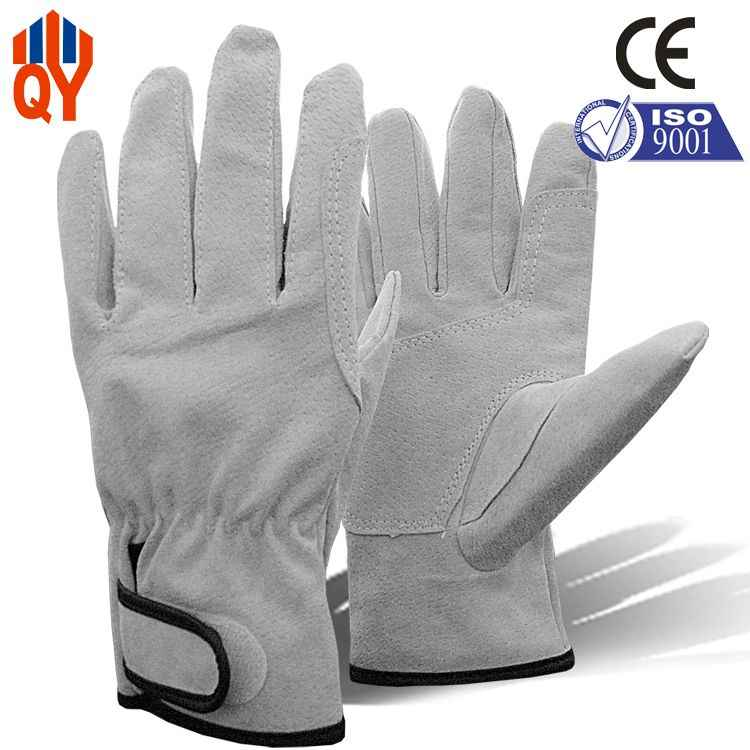Free Shipping China Supplier Cheap Pig Split Leather Work Gloves Price