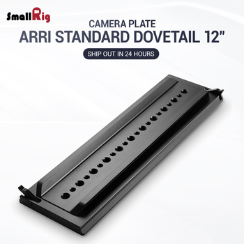 SmallRig DSLR Camera Quickly Release Plate Standard ARRI Dovetail Clamp (ARRI Standard Dovetail )12 Inches -1463