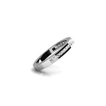 Bonsoir Wedding Ring 925 Silver Engagement Ring Women Men 2019