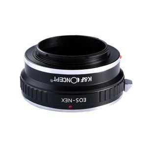 Image 3 - K & F קונספט מתאם עבור Canon EOS EF הר לסוני NEX 7 6 5R 5T A5000 A5100 a6000 A6300 A6400 A6500 A7 A7II A7R A73 A9