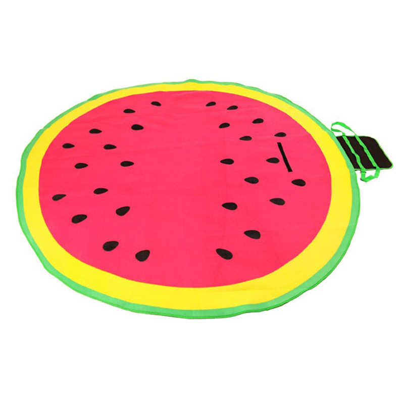 Circular Outdoor Waterproof And Moisture Proof Mat 200 200cm Soft Comfortable Picnic Camping Hight Quality