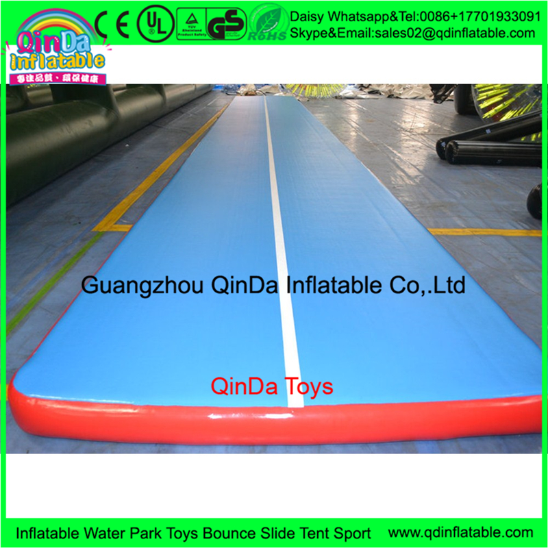 Hot chinese inflatable gym mat,tumble track inflatable air gymnastics mat for Professional Gymnastics Competition,air track free shipping 6 2m inflatable gym air track inflatable air track gymnastics