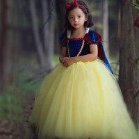 Aktualności Najwyższej jakości Dzieci Dziewczyna księżniczka sofia sukienka dla dziewczynek snow White Cosplay Costume Carnival party tutu sukienki dla dzieci