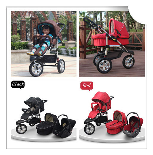 Travel System Baby Stroller,6 Colors Available for Your Choice,Build a Safe Soft Environment for Babies,Kid Baby Stroller 3 in 1