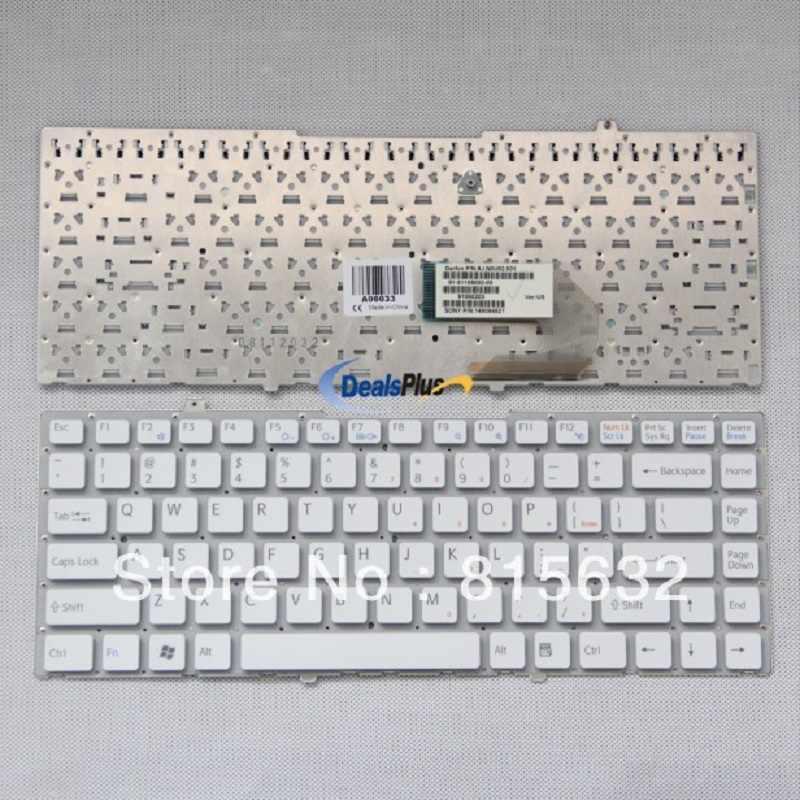 81-31105002-03 nsk-s8001 9j. n0u82.001 148084521 Белый США клавиатура для Sony VGN-FW ноутбук, Фирменная Новинка и 100% работает