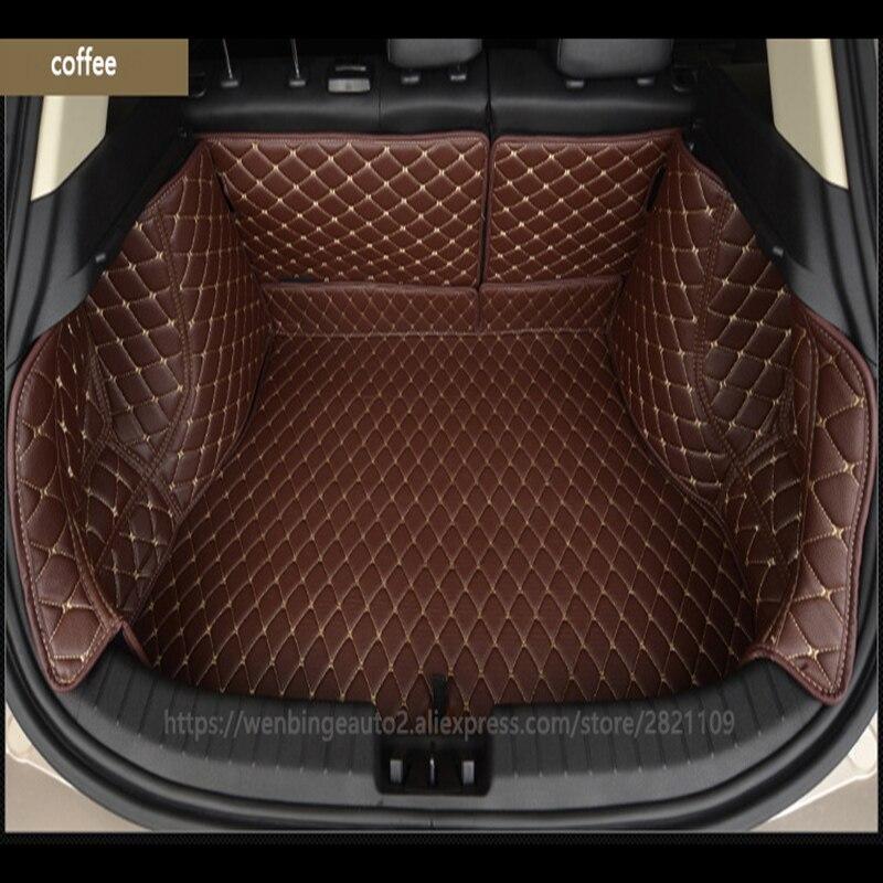 Wenbinge Spécial tapis de coffre de voiture pour Tesla Model S modèle X Dodge charger Caravane Calibre Vengeur Voyage Cargaison accessoires de Revêtement