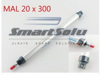 Pneumatic 20mm Bore 300mm Stroke Dual Acting Piston Air Cylinder