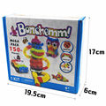 150 Puff ball squeezed enlightenment fight inserted  toys diy sticky sticky hairy ball manufacturers wholesale