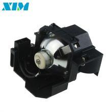 Elplp41 lámpara de repuesto con carcasa para proyector epson s5/s6/77c/8, EMP-S5, EMP-X5, H283A, HC700, H284B, EMP-X52, EMP-S52, EH-TW420
