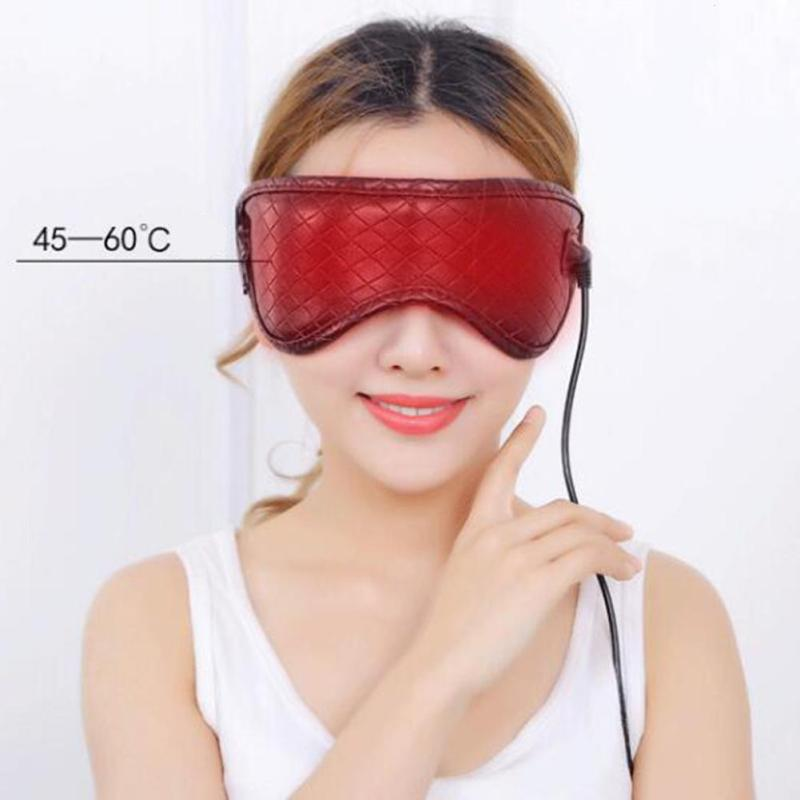Lavender Eye Mask Massager Steam Blindfold Anti Wrinkle Fatigue Relieve Cotton Travel Sleeping Aid Eye Massage L3