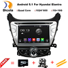 ROM 16G 1024 600 Quad Core Android 5 1 1 Fit Hyundai ELANTRA MD 2011 2012