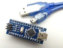 Nano V3.0 ATmega328P controller compatible for arduino nano CH340 USB driver with CABLE NANO 328P NANO 3.0