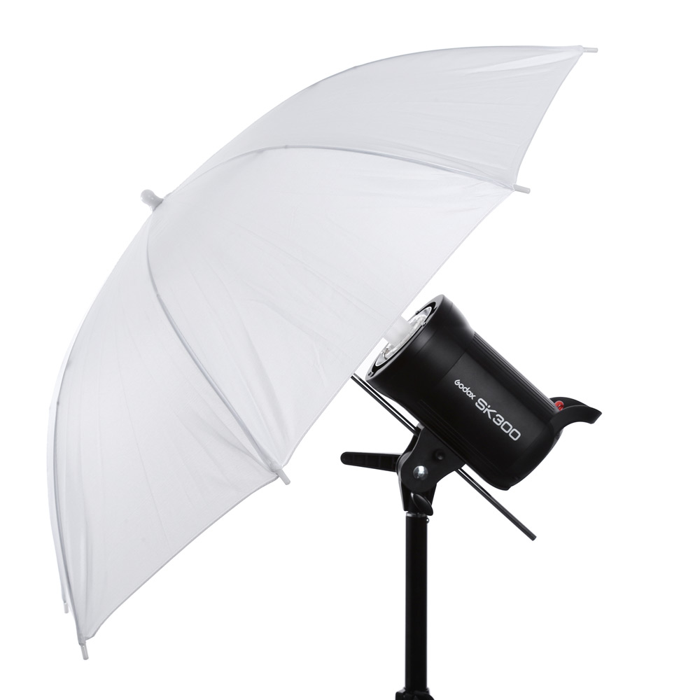 US $7 66 | Translucent Photography Soft Light Photo Studio Video Umbrella  White Flash Light Diffuser Umbrella Camera Accessories-in Umbrellas from