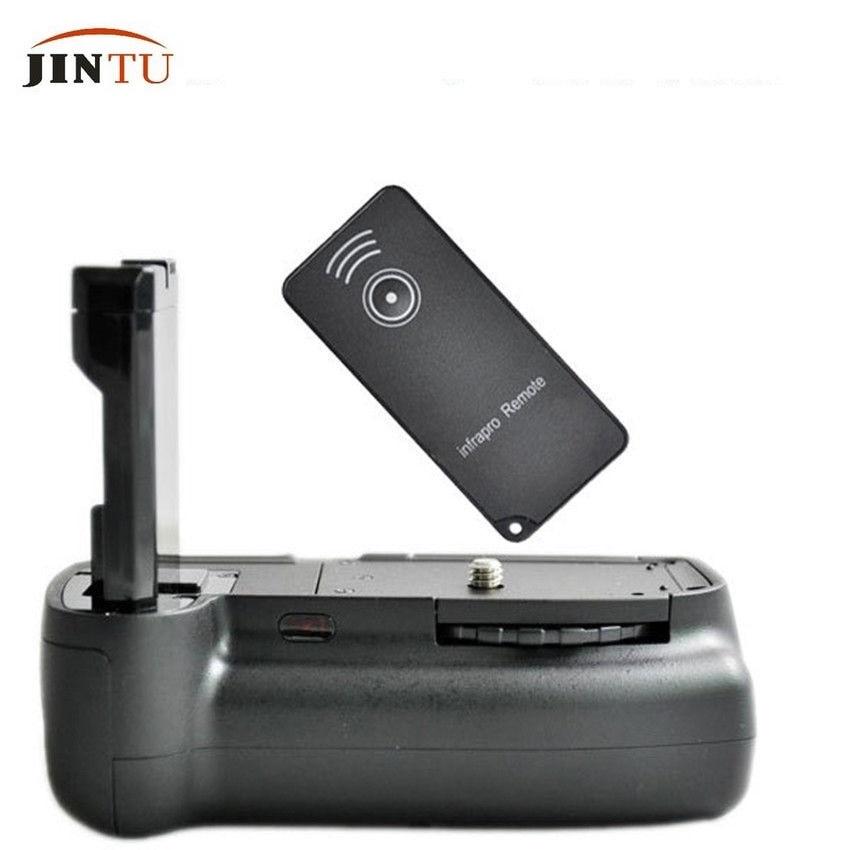 JINTU Vertical <font><b>Battery</b></font> <font><b>Grip</b></font> EN-EL14A for <font><b>Nikon</b></font> D3100 <font><b>D3200</b></font> D3300 D5300 DSLR + IR Remote Control + Free shipping 1 year warranty